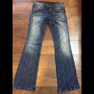 ReRock for Express Boot Jeans sz 4~EUC